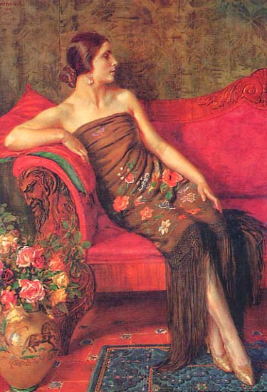 Women in Painting,British Artist George Owen Wynne Apperley