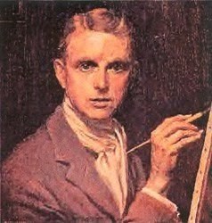 Portrait Painting by British Artist George Owen Wynne Apperley