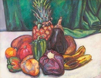 Fauvist Paintings by American Artist Jerome Blum