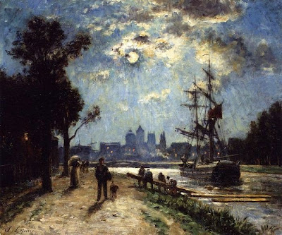 Stanislas Lépine (1835-1892) the Pre-Impressionist French Painter