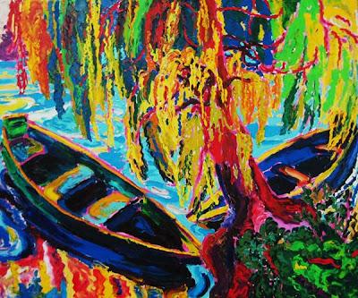 Contemporary oil painting by Ukrainian Artist Mikhail Dejak
