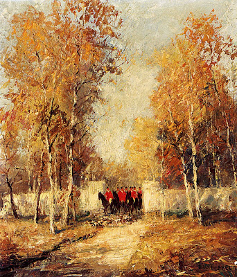 Art of German Impressionist Otto Pippel