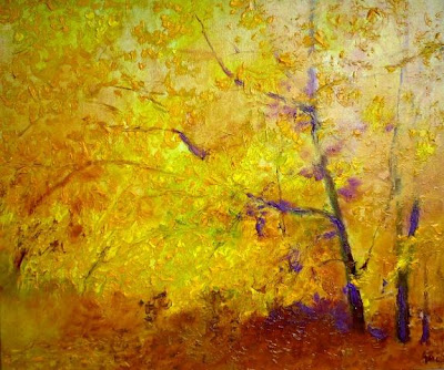 Autumn Painting by Hungarian Artist Gui Demeter