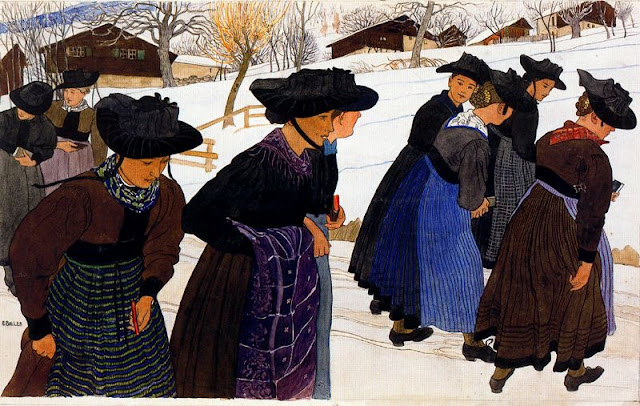 Paintings by Ernest Bieler Swiss Artist