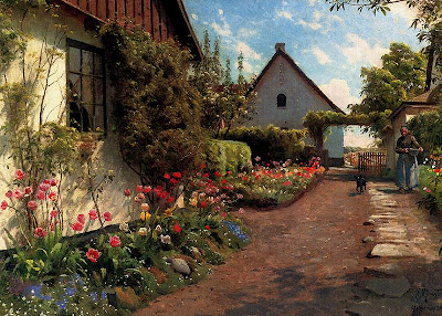 Art of Danish Artist Peder Monsted