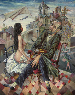 Contemporary Art of  Vyacheslav Kalinin Russian Artist