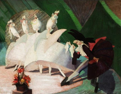 Paintings by Scottish Artist Anna Katrina Zinkeisen