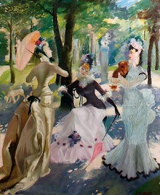 Oil Painting by Scottish Artist Anna Katrina Zinkeisen