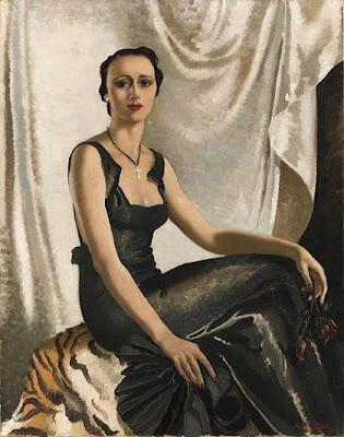 Portrait Painting by Scottish Artist Anna Katrina Zinkeisen