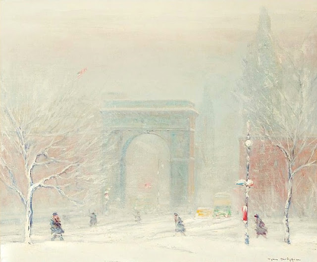 Landscape Painting by Impressionist Artist Johann Berthelsen