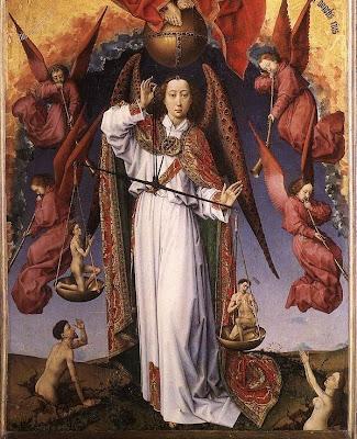 Belgian Renaissance Painter Rogier van der Weyden, Last Judgment