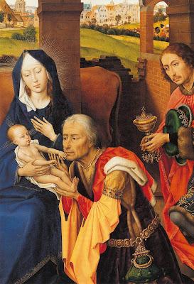 St Columba Altarpiece by Belgian Renaissance Painter Rogier van der Weyden