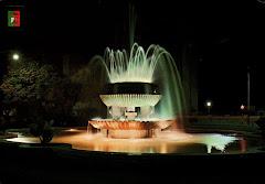 Luzes, fonte em Sá da Bandeira-Angola