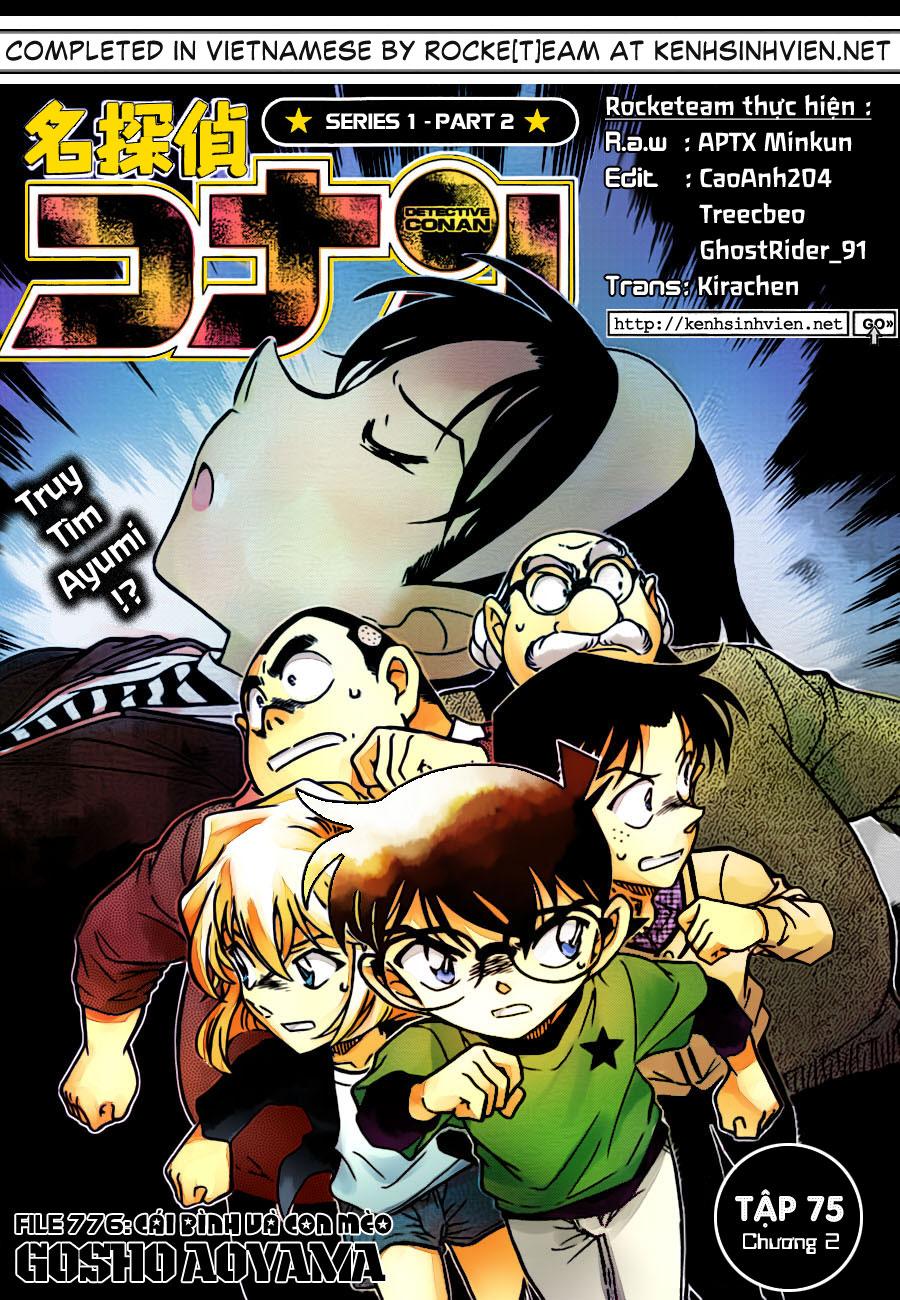 Detective Conan - Thám Tử Lừng Danh Conan chap 776 page 1 - IZTruyenTranh.com