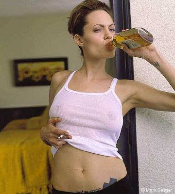 Angelina Jolie punk