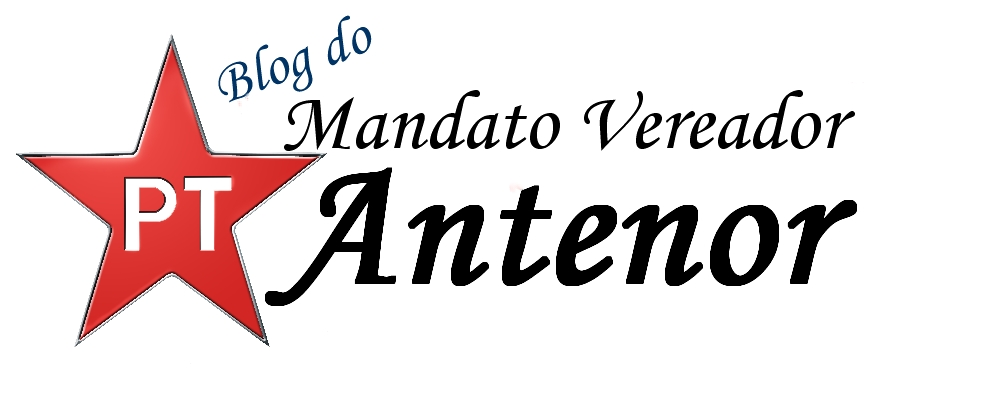 Blog do Mandato do Vereador Antenor