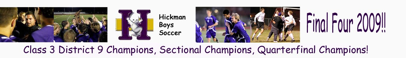 HICKMAN HIGH SCHOOL BOYS SOCCER