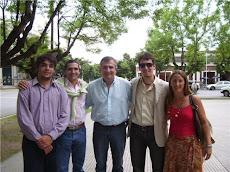Homenaje a Alfonsín en Saladillo
