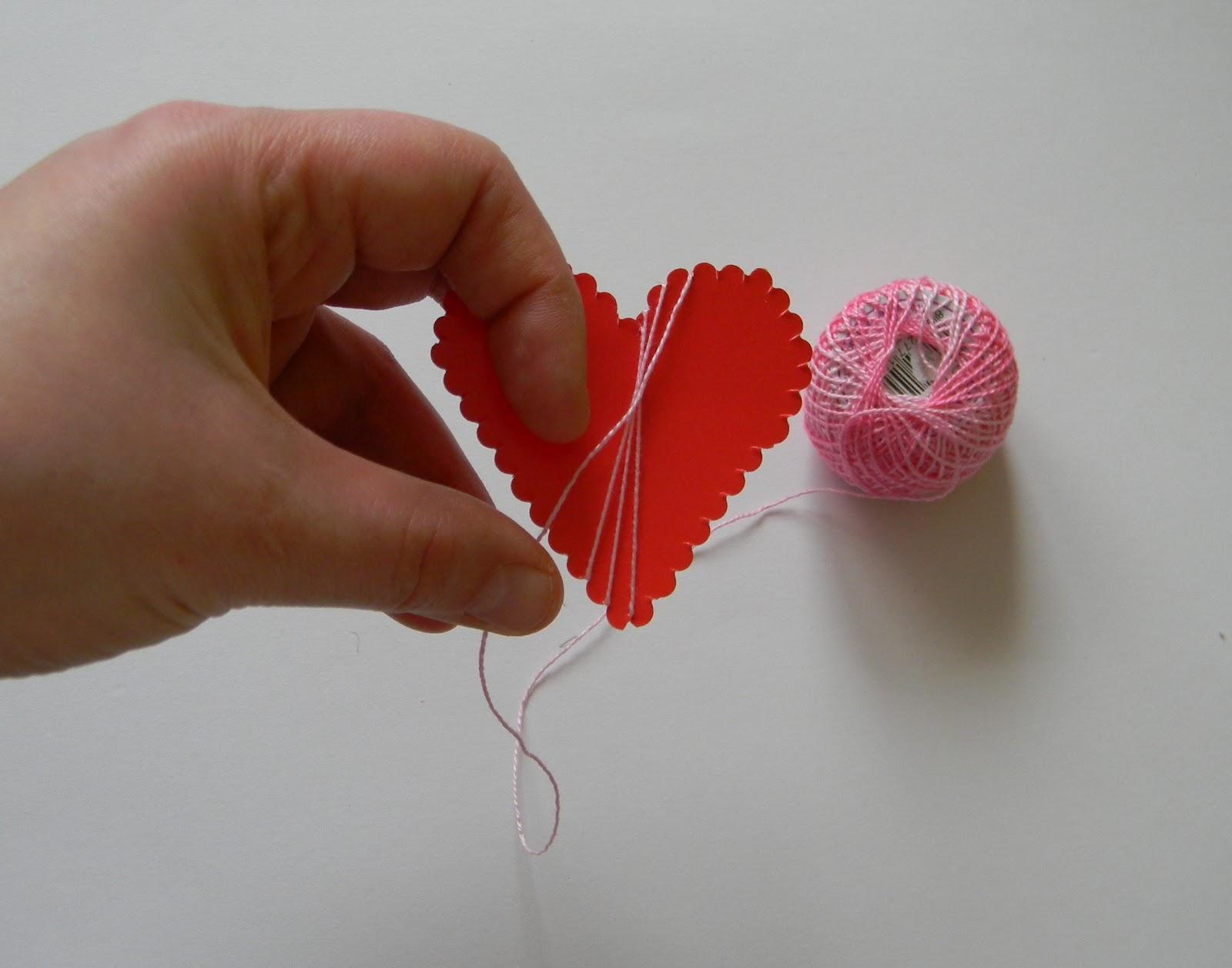 Из чего сделать большое сердце