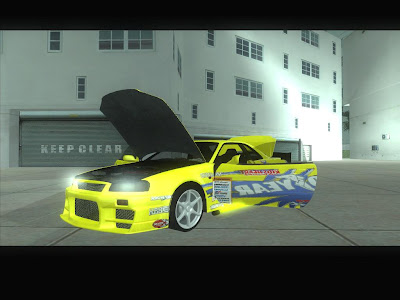 Nissan Skyline GTR34 DO LUCK GOOD YEAR