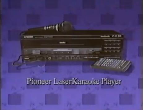 pioneer karaoke machine
