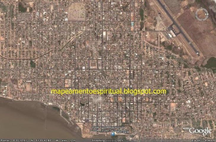 1 - Macapa imagem de satélite