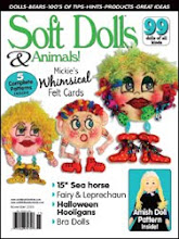 I was in the Halloween Issue of Soft Dolls & Animals!