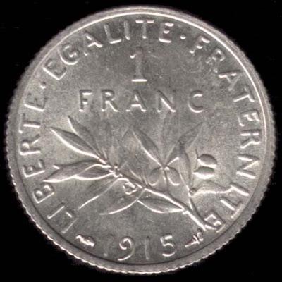 Moneda de 1 Franco