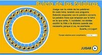 LA RULETA DE LAS PALABRAS