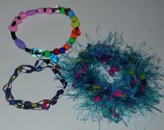 kid made bracelets