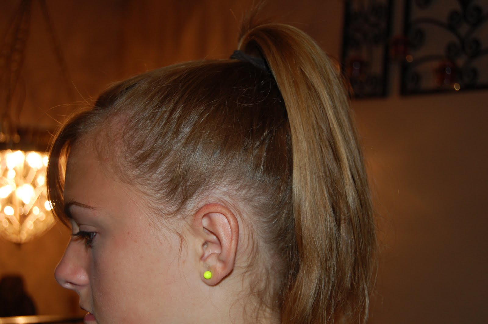 how to put a bobby pin in a bun
