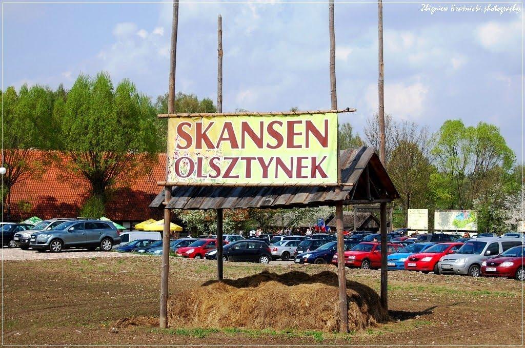 Skansen w Olsztynku: chałupy