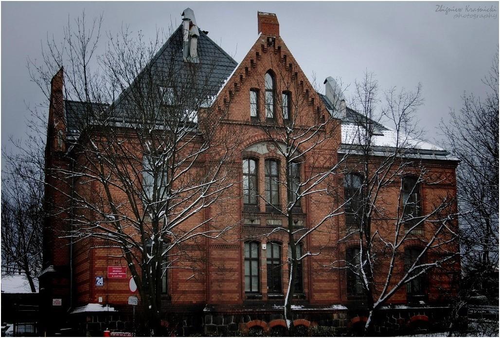 Olsztyn. Budynek Zarządu Melioracji
