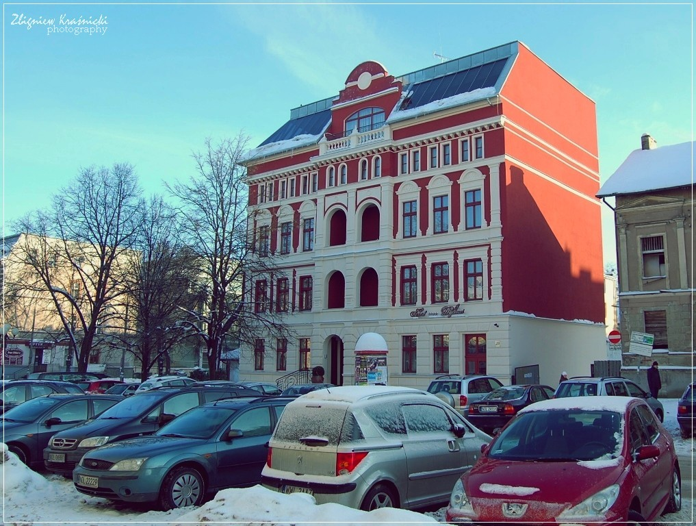 """Pod Samowarem"", czyli hotel Dyplomat"