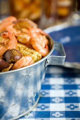 Low Country Shrimp Boil - Starfish Cottage