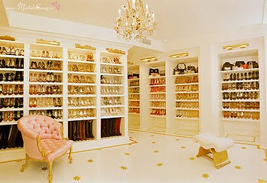 Mariah Carey Shoes Closet