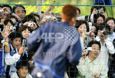 nakata hidetoshi in the press
