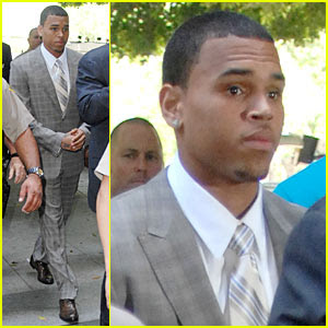 chris brown no jail time