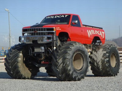 Pick-up GM-Chevrolet Monster Truck ou Big Foot
