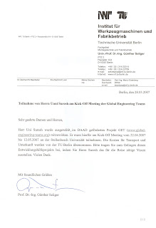 Unni suresh my projects and achievements member of get global invitation letter from stellenbosch university south africa for participating in research work stopboris Choice Image