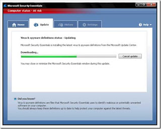 MSE Antivirus dari Microsoft