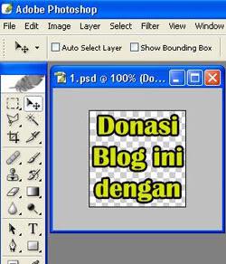 Cara membuat banner Blog
