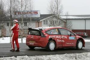 Loeb abandona Rally de Suecia