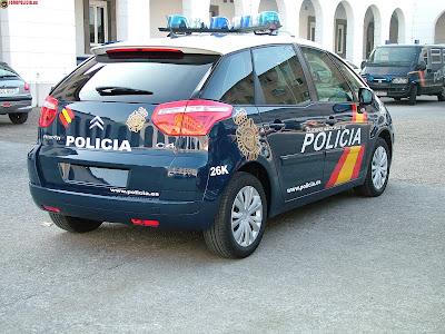 fotografia c4 picasso policia