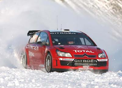 C4 Rally Suecia 2008