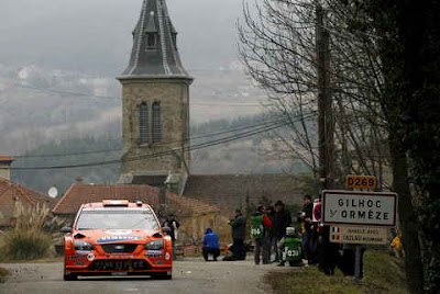 Rally de Suecia Ford Focus