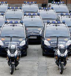 C4 Picasso policia nacional