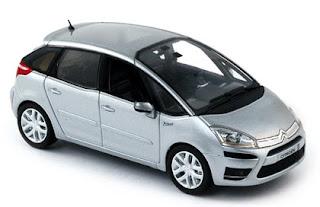 Miniatura del Citroën C4 Picasso