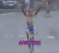 ciclista tonto