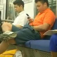 paja en el metro
